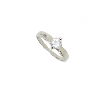 STERLING SILVER CZ RING