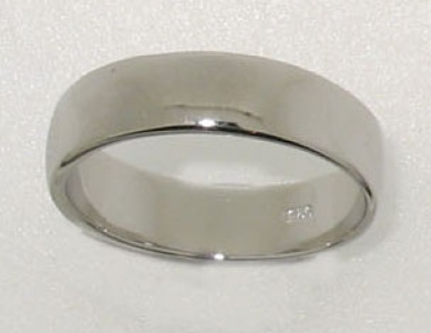 STERLING SILVER BAND.