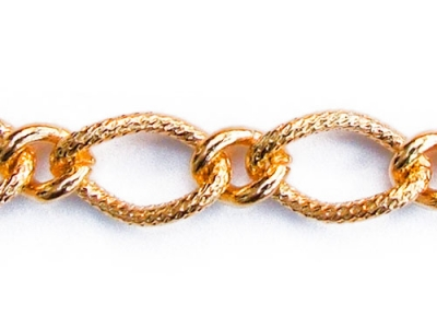 FIGARO CHAIN PATTERNED 1 LINK