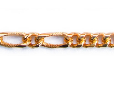 FIGARO CHAIN PATTERNED 5 LINK