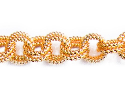 PATTERNED DOUBLE LINK CHAIN.