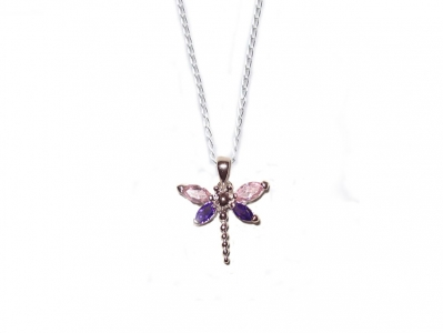 925 STERLING DRAGONFLY PENDANT.