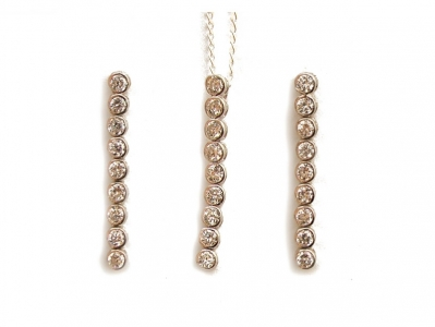 925 STERLING SILVER LONG DROP SET